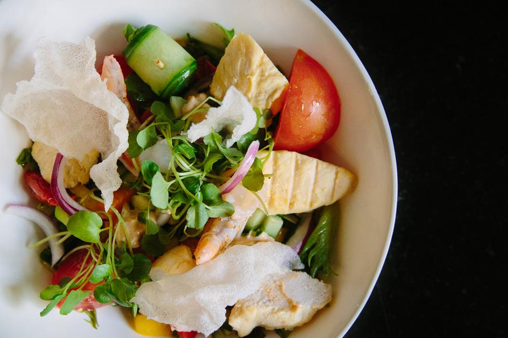 De Riddershoeve - restaurant - salade