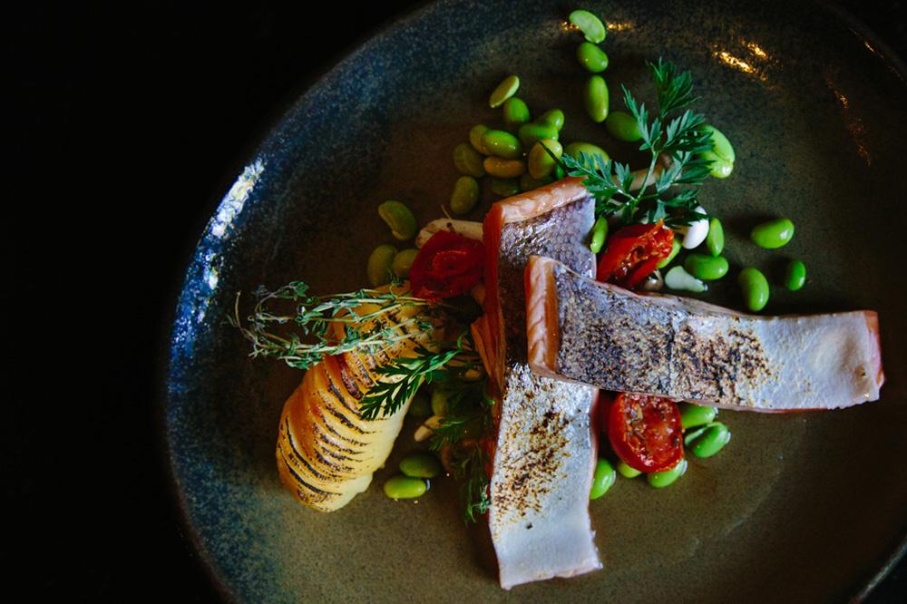 De Riddershoeve - restaurant - visgerechtje