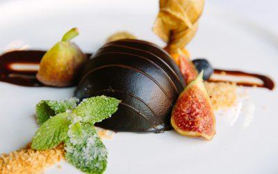 De Riddershoeve - restaurant - dessert - chocolade - munt